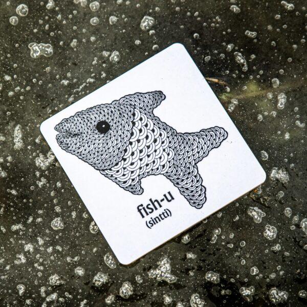 fishu lasinalunen